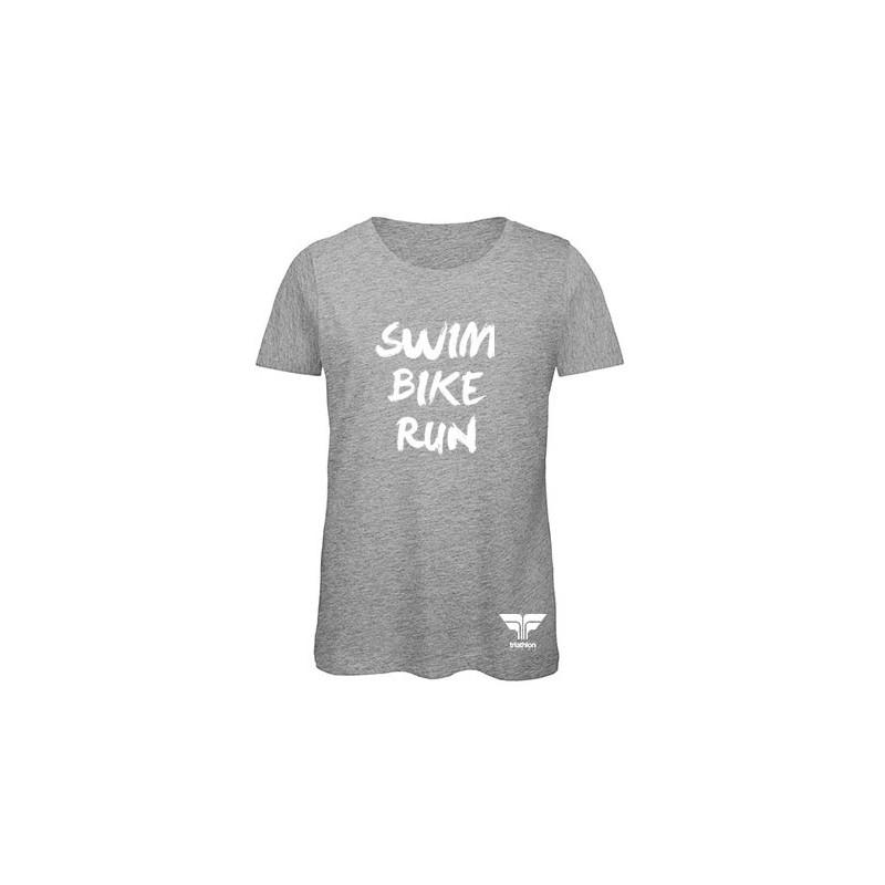 T-shirt swim bike run Triathlon Store femme  - Triathlon Store